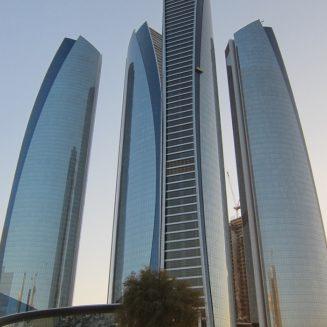 Etihad Towers - Abu Dhabi cephe kaplama projesi
