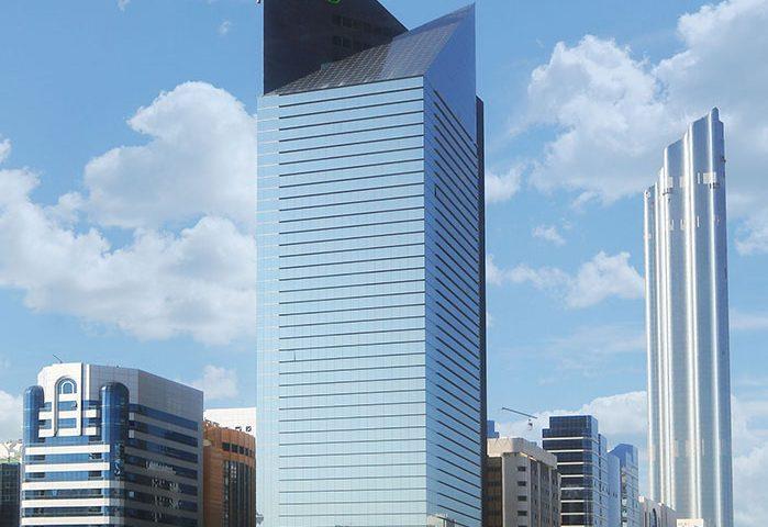 National Bank of Abu Dhabi cephe kaplama projesi