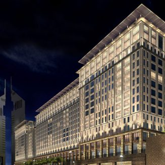 Ritz Carlton Hotel & Apartments - Dubai cephe kaplama projesi