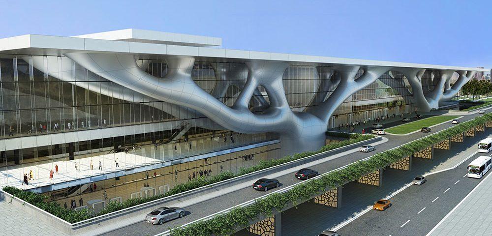 Qatar Education City Convention Center - Doha cephe kaplama projesi