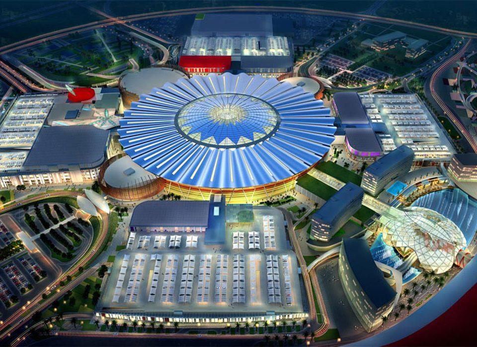 Yas Mall on Yas Island - Abu Dhabi cephe kaplama projesi